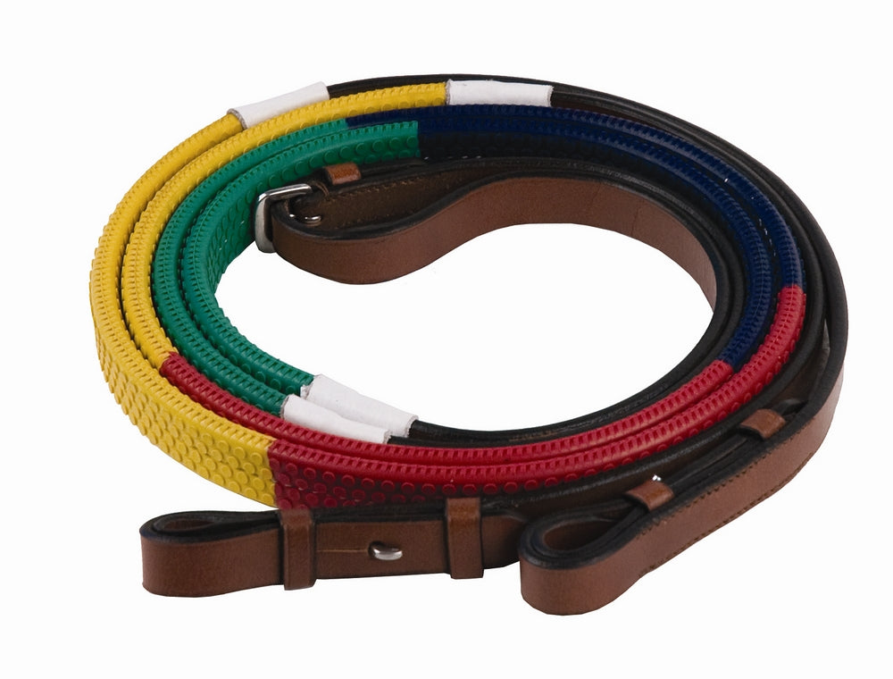 Henri de Rivel Advantage Rainbow Training Reins _5114