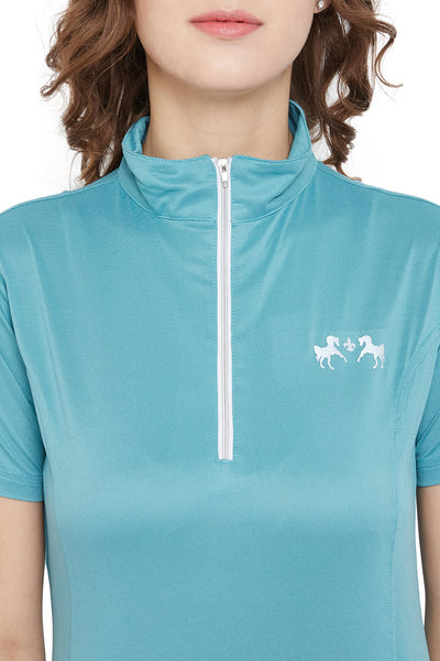 Equine Couture Surya Equicool Short Sleeve Sun Sport Shirt_5