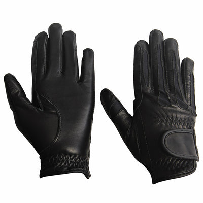 TuffRider Children's Stretch Leather Riding Gloves_3283