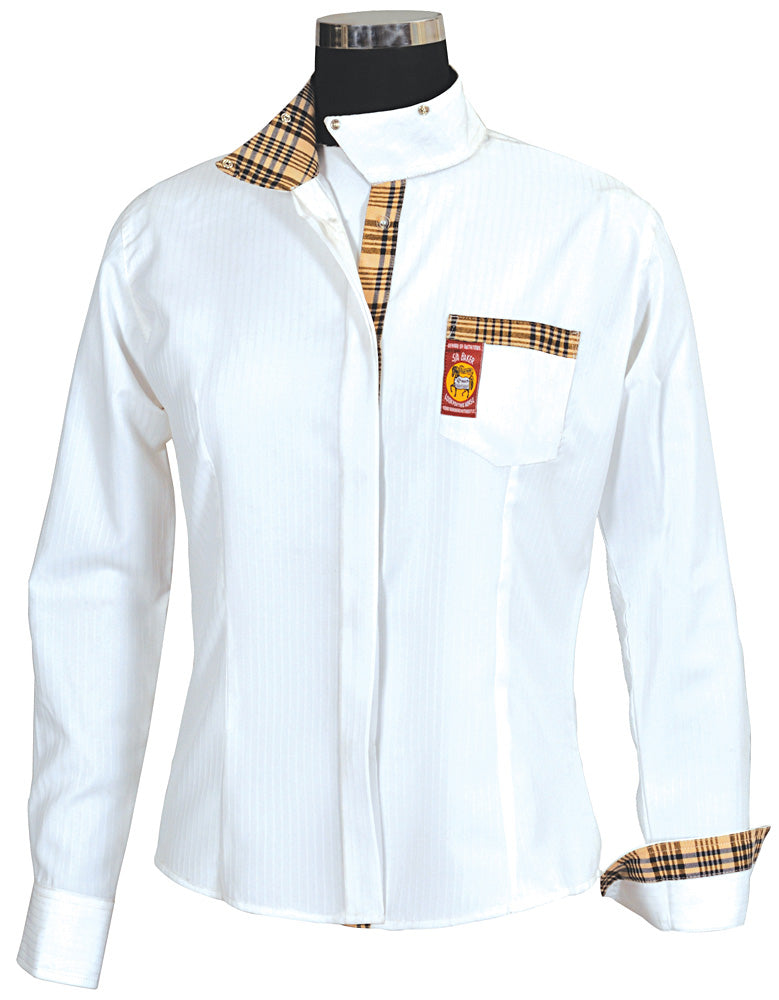 Baker Ladies Elite Competition Long Sleeve Show Shirt_1548