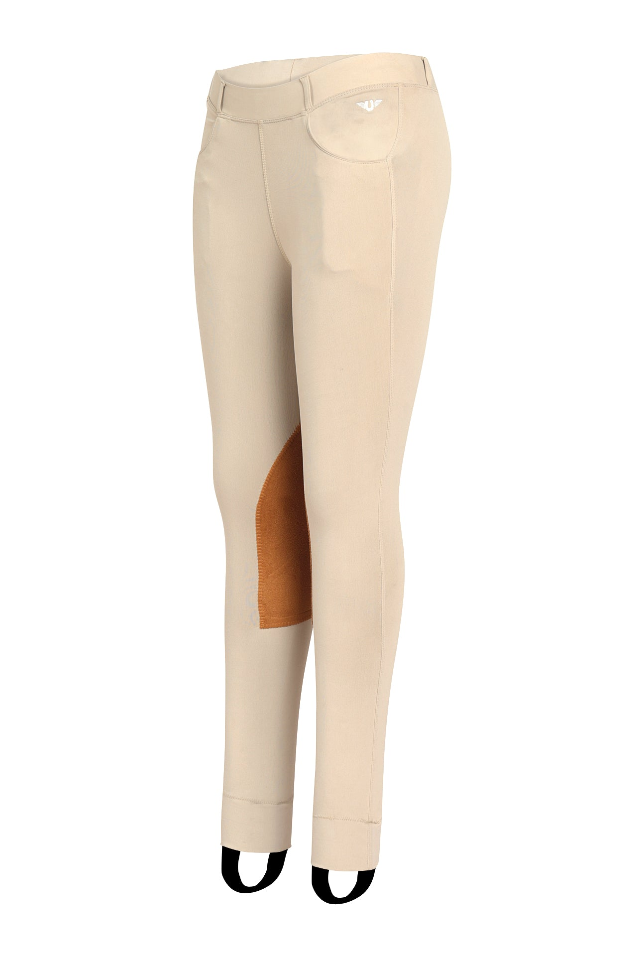 TUFFRIDER CHILDREN'S PRIME JODHPURS WITH BELT LOOPS_5608