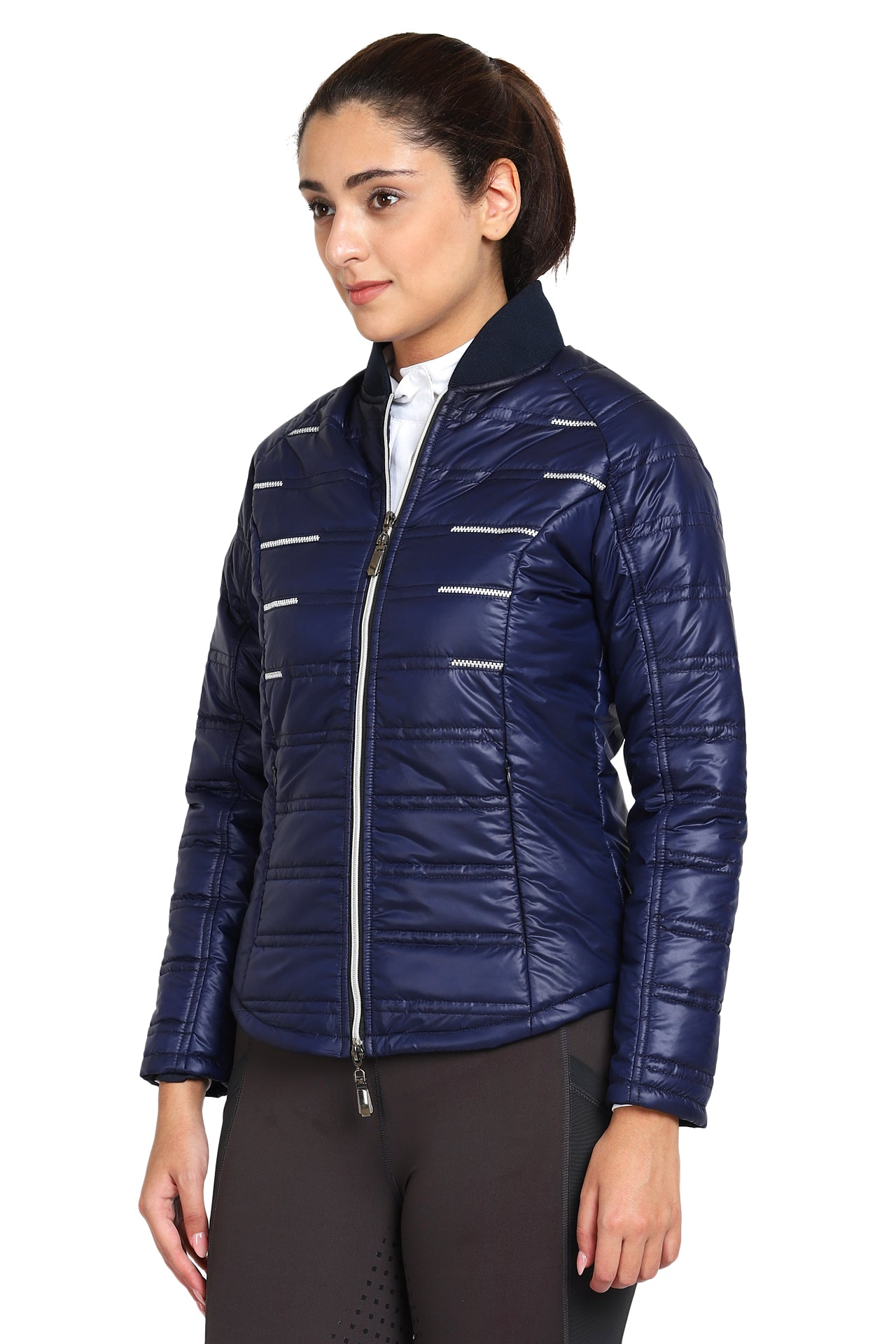 EQUINE COUTURE LADIES ALPINE PUFFER JACKET_5508