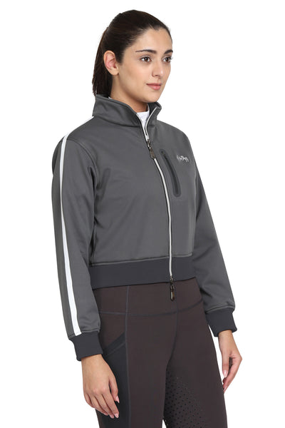 EQUINE COUTURE LADIES PIPPA CROPPED JACKET_5504