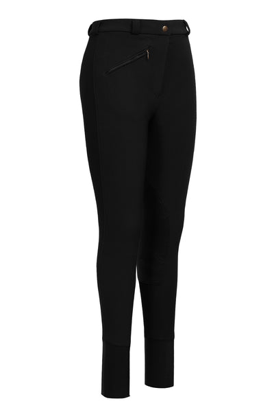 Tuffrider Ladies Long Ribb Knee Patch Breeches_5894
