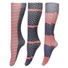 TuffRider Patriotic 3 Pack Socks_5385