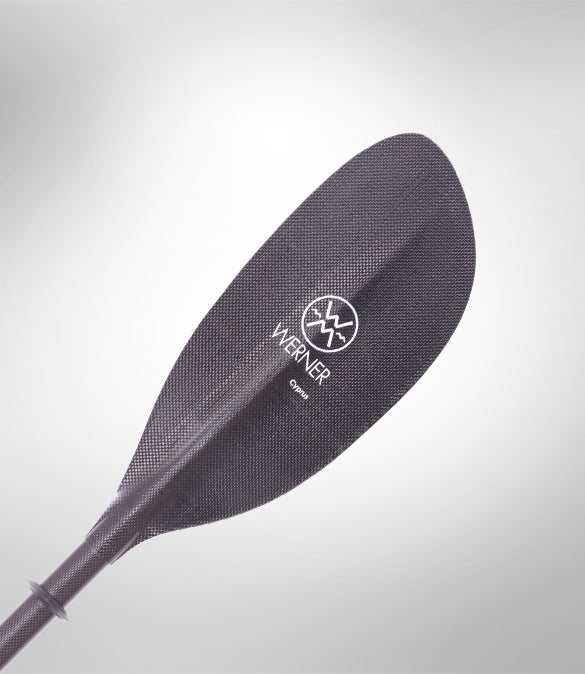 Werner Cyprus 2pc Bent Shaft Paddle