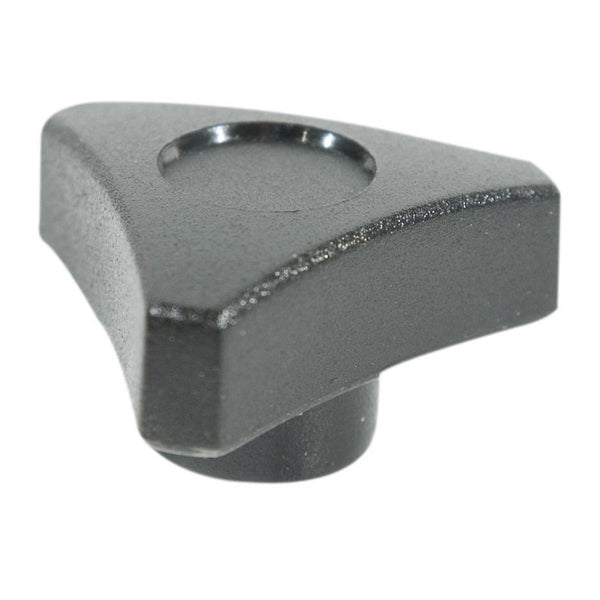 M8 Tri Wing Nuts Black - Pair