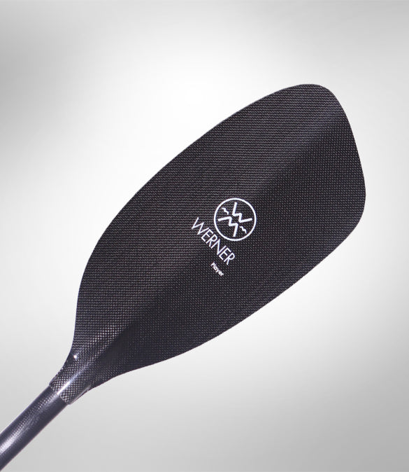 Werner Player Carbon Straight Shaft Paddle