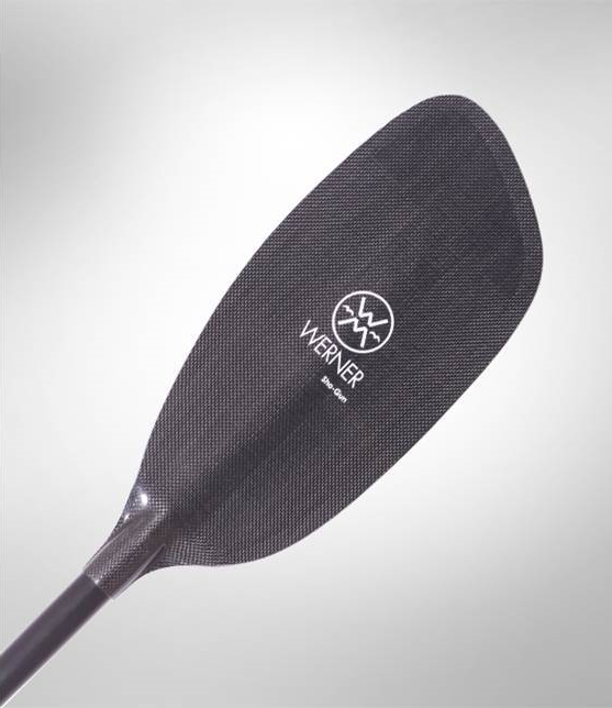 Werner Shogun Bent Carbon Paddle
