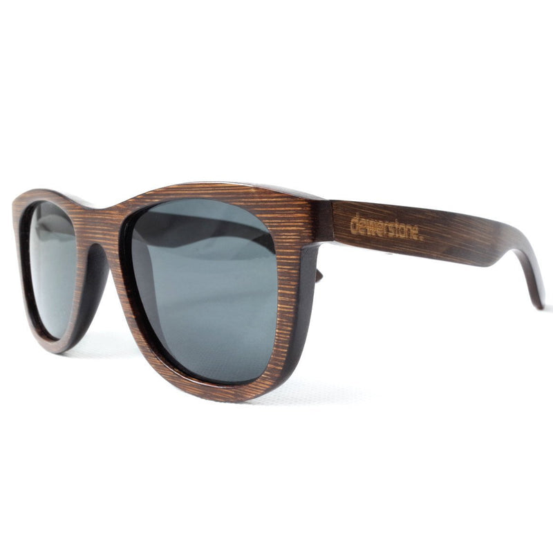 Dewerstone Cirros Bamboo Polarized Sunglasses - Brown