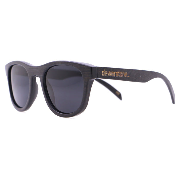 Dewerstone Cirros Bamboo Polarized Sunglasses - Graphite Grey