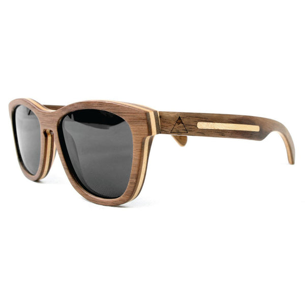 Dewerstone Summit Wooden Polarized Sunglasses