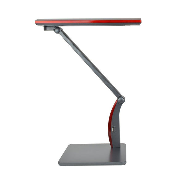 Xtralite LED Oxford Dimmable Desk Lamp, Red