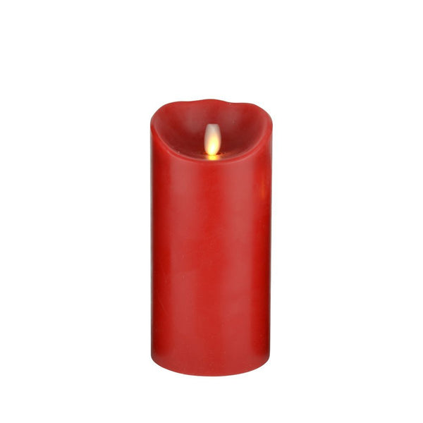 Advantage Flame Replicating LED Candle, Real Wax, Battery Operated