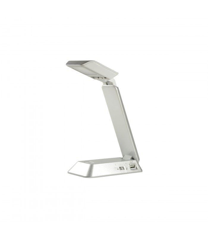 Xtralite LED Portable Folding Task Lamp - Silver