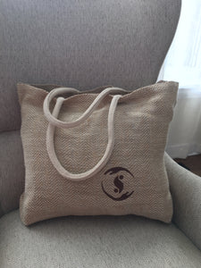 'Care-e-All' Jute Tote