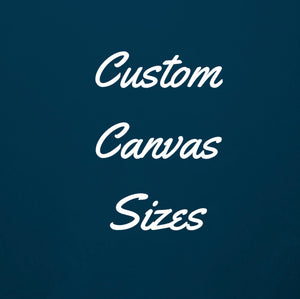 Custom Canvas Sizes