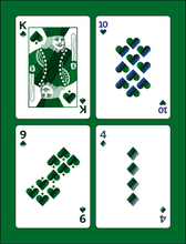 Load image into Gallery viewer, Green Wave Playing Cards - Pre-order
