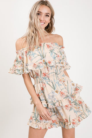 Ruffles in Paradise Dress
