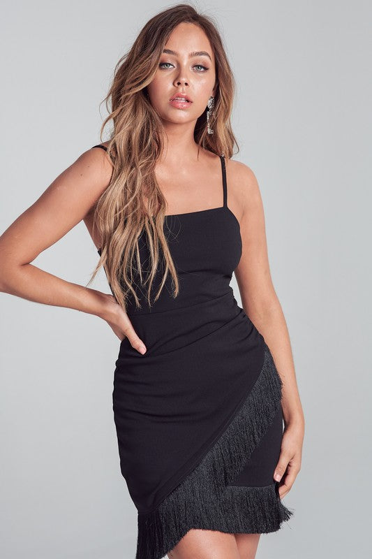 Night Out Fringe Dress