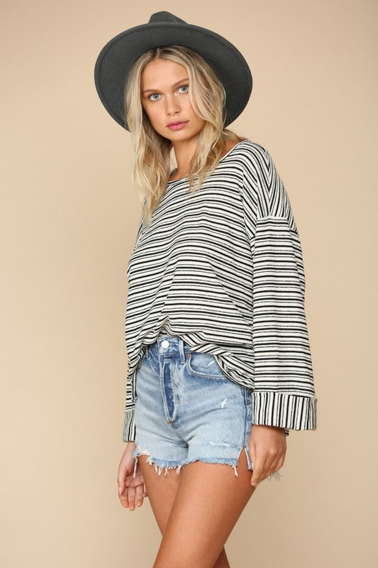 Marlow Striped Top