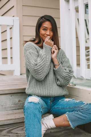 Blakely Striped Sweater