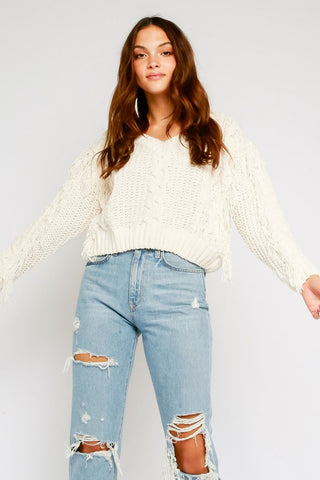 Cut It Out Sweater