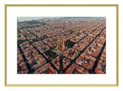 Barcelona from the Sky