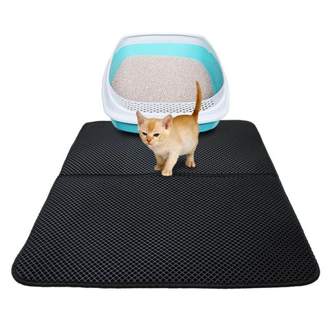 Waterproof Pet Cat Litter Trapping Mat