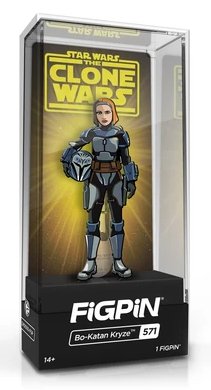 FiGPiN STAR WARS THE CLONE WARS BO-KATAN KRYZE #571 LiMiTED EDiTiON