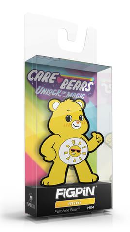 FiGPiN MiNi CARE BEARS FUNSHiNE BEAR #M54