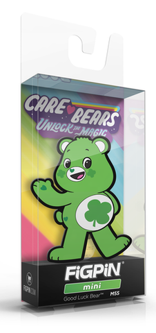 FiGPiN MiNi CARE BEARS GOOD LUCK BEAR #M55