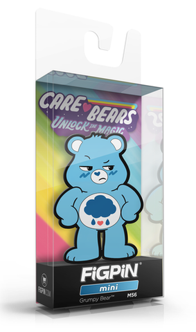 FiGPiN MiNi CARE BEARS GRUMPY BEAR #M56