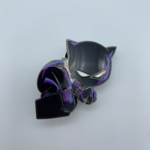 SKOTTiE YOUNG BLACK PANTHER SPARKLE CHASE SDCC 2019 MARVEL EXCLUSiVE ENAMEL PiN