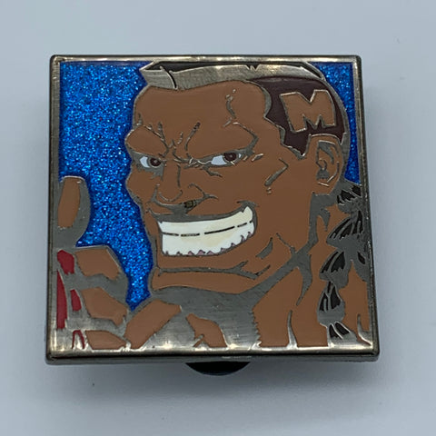 DEE JAY P2 CHARACTER SELECT STREET FiGHTER 2 TURBO SDCC 2016 UDON EXCLUSiVE ENAMEL PiN