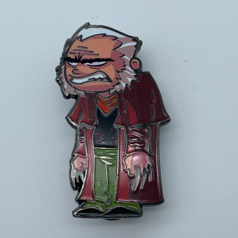 SKOTTiE YOUNG OLD MAN LOGAN CHASE NYCC 2018 MARVEL EXCLUSiVE ENAMEL PiN