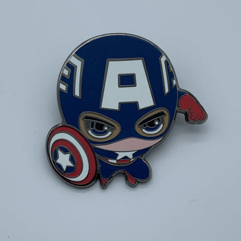 CAPTAiN AMERiCA 2 NYCC 2016 MARVEL EXCLUSiVE ENAMEL PiN