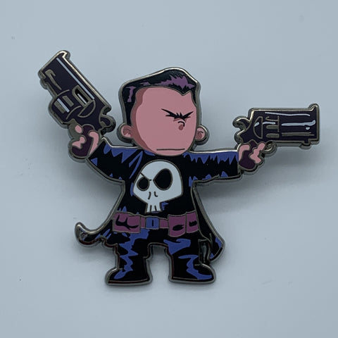 SKOTTiE YOUNG PUNiSHER NYCC 2015 MARVEL EXCLUSiVE ENAMEL PiN