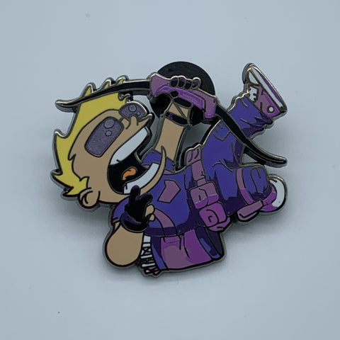 SKOTTiE YOUNG HAWKEYE NYCC 2015 MARVEL EXCLUSiVE ENAMEL PiN