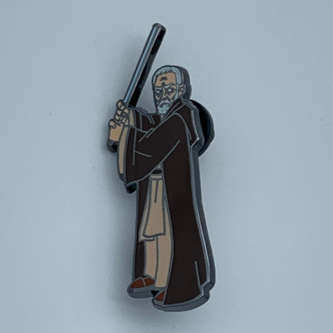OBi-WAN KENOBi STAR WARS CELEBRATiON 2019 EXCLUSiVE ENAMEL PiN
