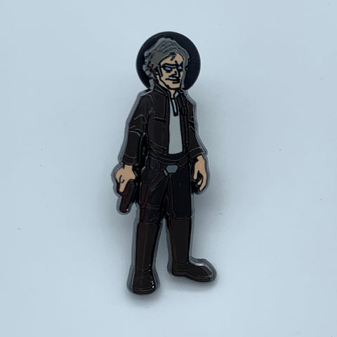 HAN SOLO CHASE VARiANT STAR WARS CELEBRATiON 2019 EXCLUSiVE ENAMEL PiN