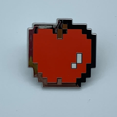 CMD PAC-MAN APPLE ENAMEL PiN