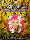 UDON PiNS DARKSTALKERS FELiCiA LUCKY CAT PiNK VARiANT PiNS ON FiRE EXCLUSiVE 1:3 GLiTTER CHASE