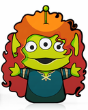FiGPiN DiSNEY PiXAR ALiEN REMiX MERiDA #417