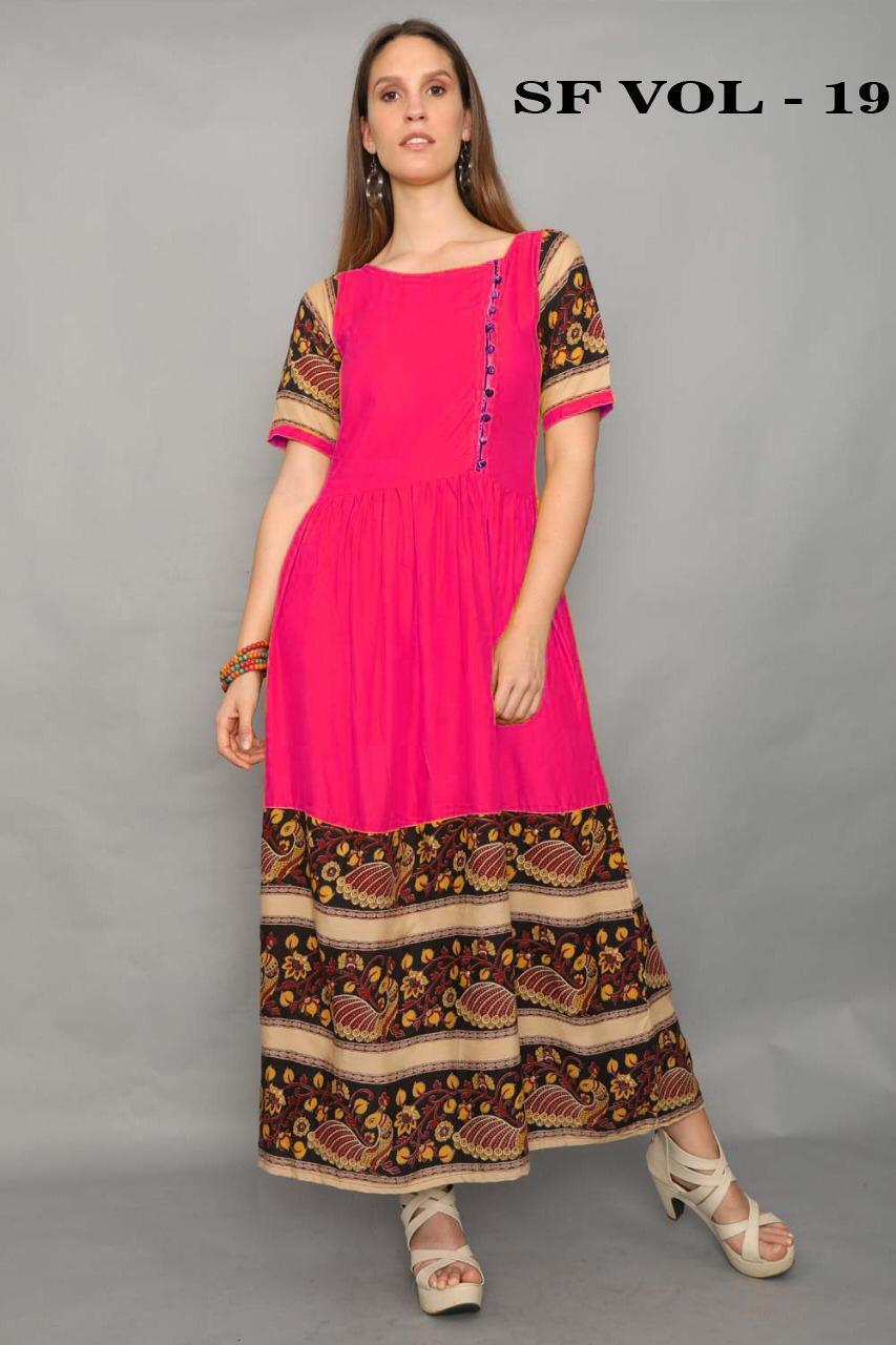 Out Standing Pink color Gown