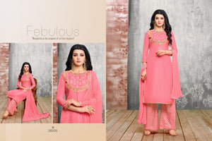 Awesome pink color Salwar Suit