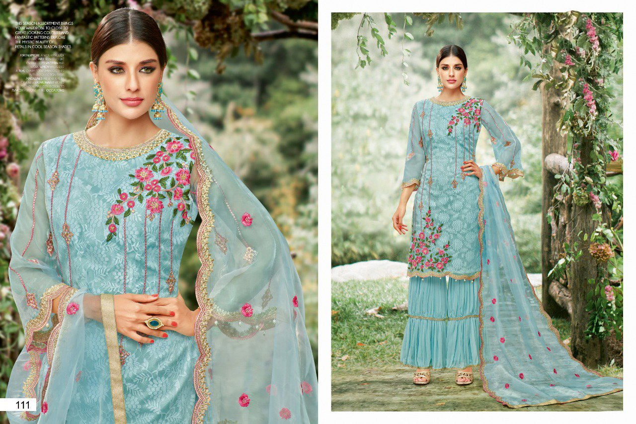 Awesome rama color Salwar Suit