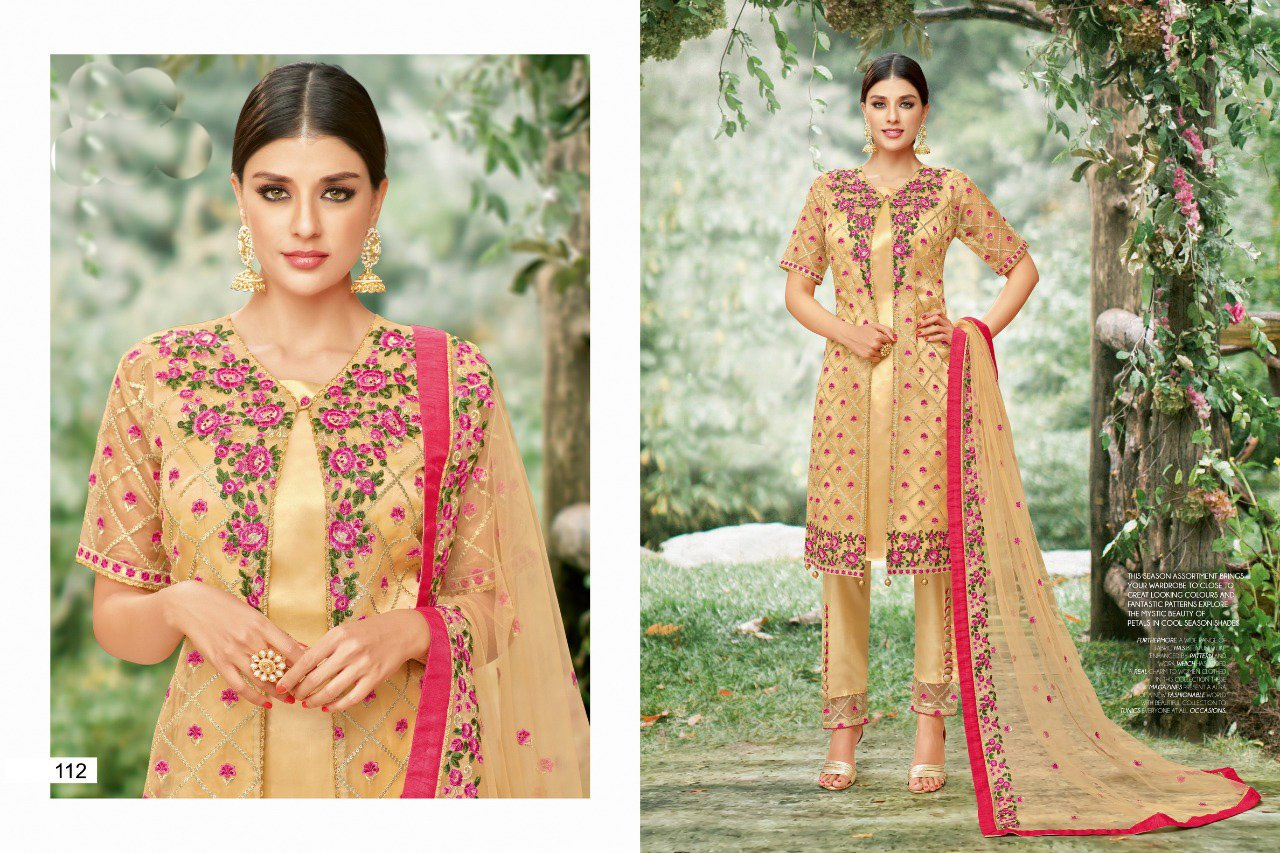 Amazing orange color Salwar Suit