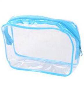 eTya Women Clear PVC Luggage Organizer Packing Waterproof  Clothes Cosmetic Makeup Bag Toiletry Wash Case Travel Accessories