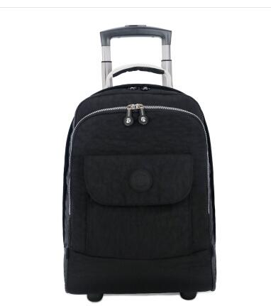 18 Inch Wheeled Backpacks for Laptop Waterproof Travel Trolley Backpack Large Capacity Men Trolley Bags Luggage Carry-on Bags